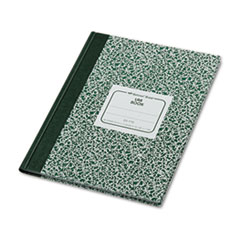 National® Lab Notebook, Quadrille, 10 1/8 x 7 7/8, White, 96 Sheets