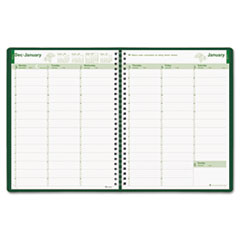 Brownline EcoLogix Weekly Appointment Book - Julian - Weekly - 1 Year - January 2017 till December 2 REDCB425WGRN