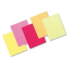 Pacon® Array Colored Bond Paper, 24lb, 8-1/2 x 11, Assorted Hyper Colors, 500 Shts/Rm