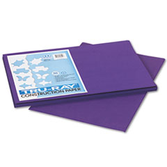Pacon® Tru-Ray Construction Paper, 76 lbs., 12 x 18, Purple, 50 Sheets/Pack