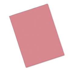 Pacon® Riverside Construction Paper, 76 lbs., 9 x 12, Raspberry, 50 Sheets/Pack