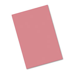 Pacon® Riverside Construction Paper, 76 lbs., 12 x 18, Raspberry, 50 Sheets/Pack