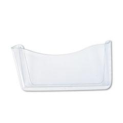 Rubbermaid® Unbreakable Single Pocket Wall File, Letter, Clear