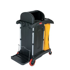 Rubbermaid® Commercial High-Security Healthcare Cleaning Cart Thumbnail