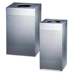 Rubbermaid® Commercial Designer Line™ Silhouettes Waste Receptacle