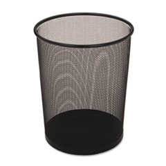 Rubbermaid® Commercial Steel Mesh Wastebasket