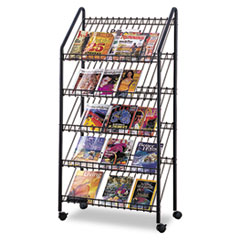 Safco® Mobile Literature Rack Thumbnail