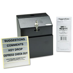 Safco® Steel Suggestion/Key Drop Box Thumbnail