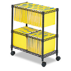 Safco® Two-Tier Rolling File Cart Thumbnail