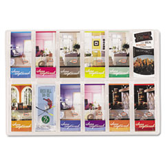 Safco® Reveal™ Clear Literature Displays Thumbnail
