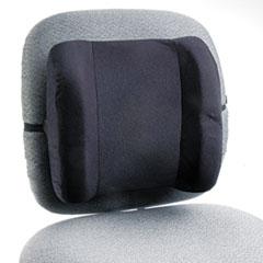 Safco® Remedease High Profile Backrest,12.75w x 4d x 13h, Black