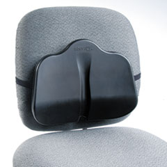 Low Profile Backrest, 13-1/2w x 3d x 11h, Black