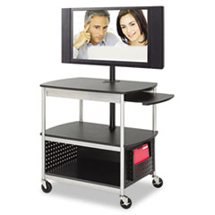 Safco® Scoot™ Flat Panel Multimedia & AV Carts Thumbnail