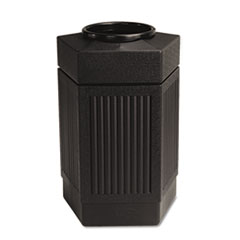 Safco® Canmeleon Indoor/Outdoor Pentagon Receptacle
