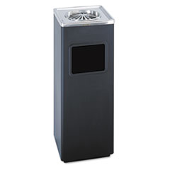 Safco® Square Ash 'N' Trash Sandless Urn Thumbnail