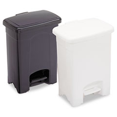 Safco® Plastic Step-On Receptacle