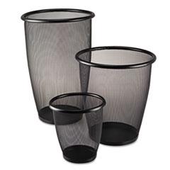 Safco® Onyx™ Round Mesh Wastebaskets