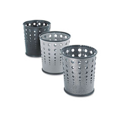 Safco® Bubble Wastebaskets