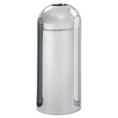 Safco® Dome Top Receptacle with Open Top