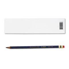Col-Erase Pencil w/Eraser, Blue Lead/Barrel, Dozen