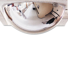 "See All® T-Bar Dome Security Mirror, 24"" Diameter"