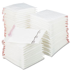 Sealed Air Jiffy TuffGard Self-Seal Cushioned Mailer, #2, Barrier Bubble Lining, Self-Adhesive Closure, 8.5 x 12, White, 50/Carton