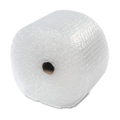 "Recycled Bubble Wrap, Light Weight 5/16"" Air Cushioning, 12"" x 100ft"
