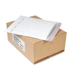Sealed Air Jiffy TuffGard Self-Seal Cushioned Mailer, #6, Barrier Bubble Lining, Self-Adhesive Closure, 12.5 x 19, White, 25/Carton