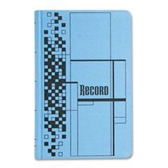Adams® Blue and Black Record Ledger
