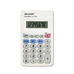 Sharp® EL233SB Pocket Calculator Thumbnail