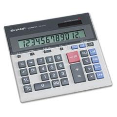 Sharp® QS-2130 Compact Desktop Calculator, 12-Digit LCD