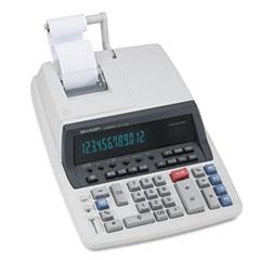 Sharp® QS-2770H Two-Color Ribbon Printing Calculator, Black/Red Print, 4.8 Lines/Sec