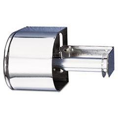 San Jamar® Covered Reserve Roll Toilet Dispenser, 10 x 6 1/4 x 6, Chrome