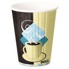 Dart® Duo Shield® Insulated Paper Hot Cups