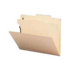Smead® Manila Four- and Six-Section Top Tab Classification Folders