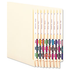 Smead® A-Z Color-Coded End Tab Filing Labels Thumbnail