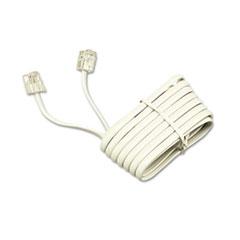 Softalk® Telephone Extension Cord, Plug/Plug