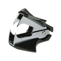 Deluxe Jaw-Style Staple Remover, Black