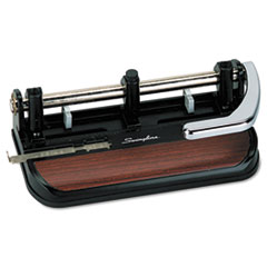 Swingline® Accented Heavy-Duty Lever Action Two- to Three-Hole Punch Thumbnail