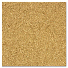 "The Board Dudes 12""x12"" Cork Tiles - 12"" Height x 12"" Width - Light Brown Cork Surface - 1 Pack BDUCXP85"