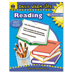 Daily Warm-Ups: Reading, Grade 2, Paperback, 176 Pages