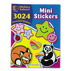 Sticker Book, Mini Size, 3,024/Pack