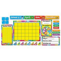 "TREND® Year Around Calendar Bulletin Board Set, 22"" x 17"""