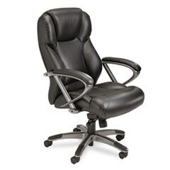 Mayline® Leather Seating High-Back Chair Thumbnail