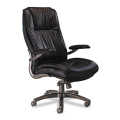 Mayline® Leather Seating Series Executive High-Back Swivel/Tilt Chair Thumbnail
