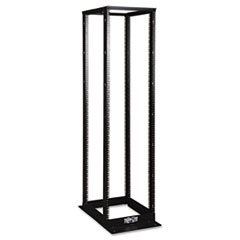 SR4POST 45U 4-Post Open Frame Rack with Square Holes 1000lb Capacity