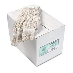 Boardwalk® Pro Loop Web/Tailband Wet Mop Head, Cotton, 12/Carton