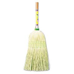 "Boardwalk® Parlor Broom, Corn Fiber Bristles, 42"" Wood Handle, Natural BWK926CEA"