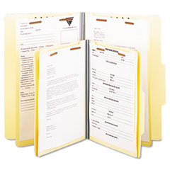 Universal® Six-Section Classification Folders