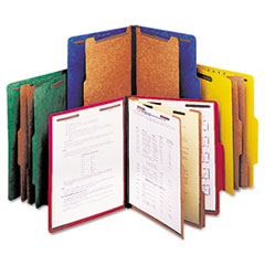 Universal® Bright Colored Pressboard Classification Folders